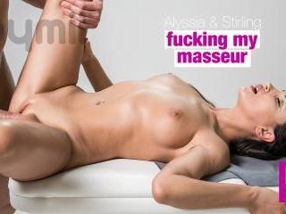 Fucking My Masseur