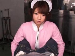 Yua Yoshikawa Pretty nurse enjoys sucking her pati