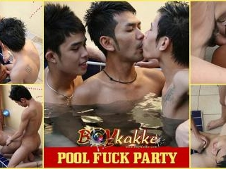 Pool Fuck Party