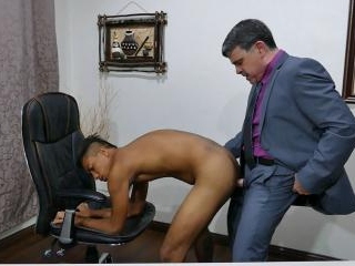 Josh Takes Daddys Cock