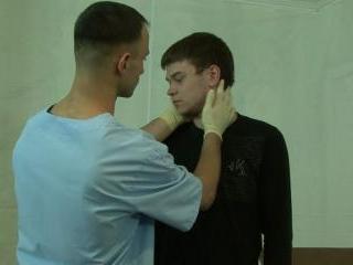 Intense medical examination