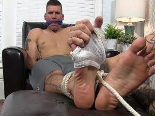 Johnny Foot Fucks Caleb