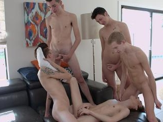 So Much Bareback Twink Cock To Enjoy! - Connor Jac