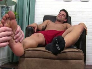 Christian Trains His New Foot Slave - Christian
