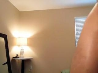 Dishy guy is jerking in his room and filming himse