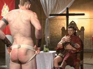 Roman slave offers his entire body to the whims of