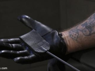 Leather God Trenton Ducati Dominates & Destroys St
