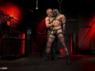 Power Fuck: Hot Leather Men Inflict Muscle Dominat
