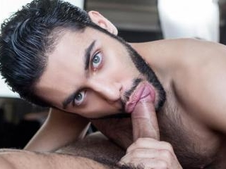 Gay Porn Star Diego Sans fucks hot Persian Shawn A