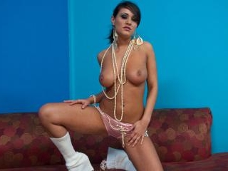 Charley\'s Oiled Up with Pearls