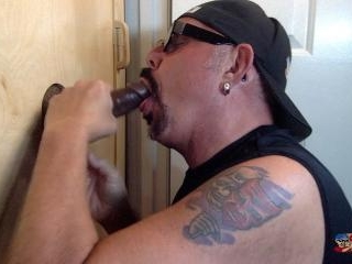 Last Gloryhole Cock Suck Of The Day