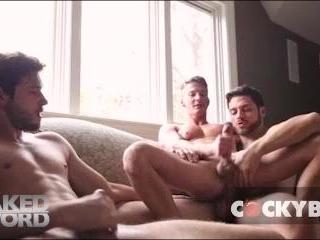 Darius Has A Big Fat Dick - Cockyboys