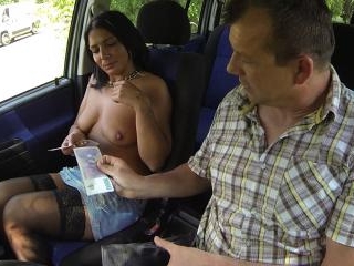Czech Whore Gets Amazing Cumshot to the EYE