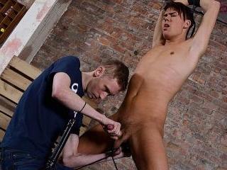 Flogged And Wanked Off! - Justin Blaber & Ashton B