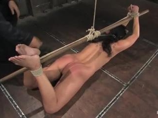 Bianca Dagger suffers and cums though her first ha