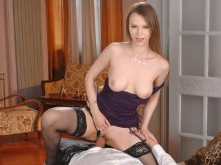 DDFnetwork - Absolute Slovakian goddess devours a