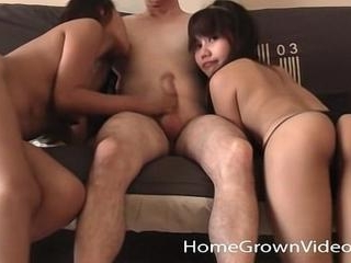 Lucky Martin C. Bangs Barely Legal Asians Brandy a