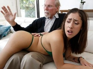Kira Gets Pounded By Grandpa