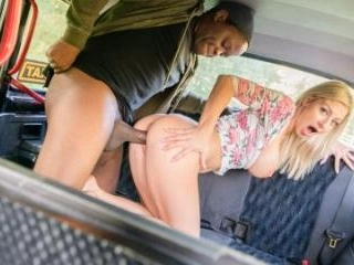 Hot Cabbie Eager To Suck Black Cock