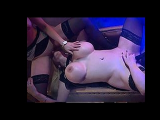 Dirty pole dancers in a fantastic lesbian threesom