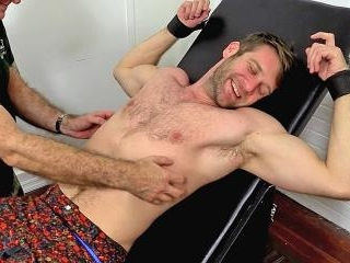 Stud Colby Keller Tied Up and Tickle Tortured - Co
