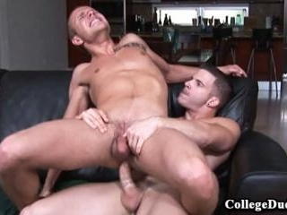 College Dudes - Angel Rock fucks Rob Ryder