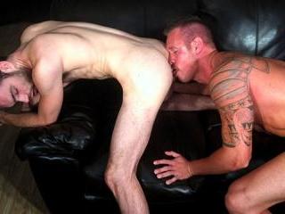 Jackson Powers & Brandon Atkins BAREBACK in Clevel