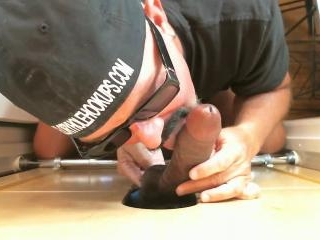 Black Man Fucks Me At The Gloryhole
