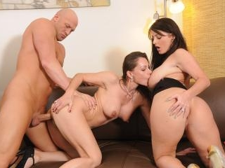 Latinfixation beautiful brunette sophie dee tag team