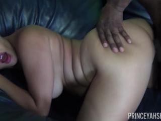 Mena Li Sucks Prince Yahshua\'s Big Black Cock Like