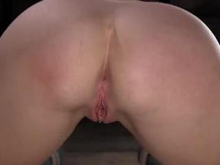 Girl Next Door Ashley Lane in Extreme Bondage with
