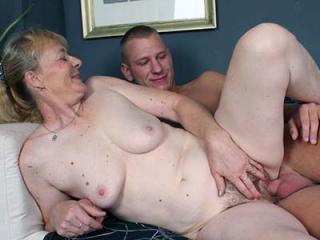 Granny Maria Riding a Cock