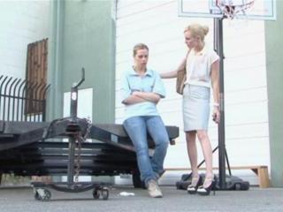 Tara Lynn Foxx and  Kiara Diane in