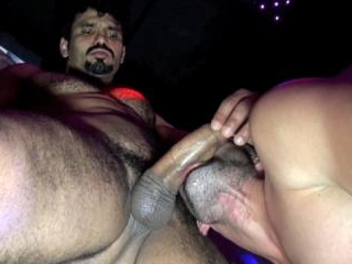 Mike Tiger Drilled By Cocky Latino Hunk