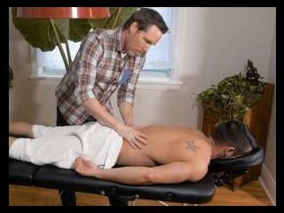 Massaging Zack