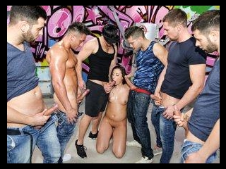 Carla\'s Dream: Sweaty Anal Gang Bang