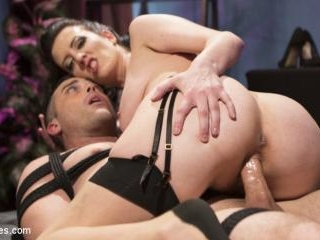Cherry Torn Dominates and Fucks Foot-Sniffing Perv