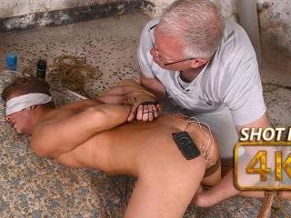 Milked With Elctro Stimulation! - Casper Ellis & S