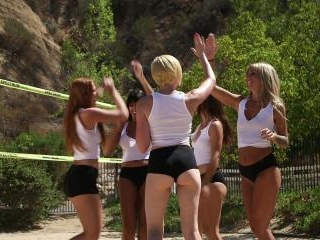 Volleyball Orgy