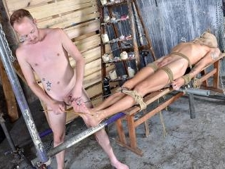 Woot Wanking With A Tied Up Boy - Xavier Sibley &