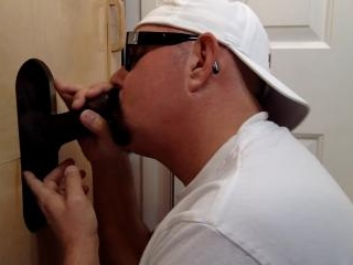 Monday Morning Black Cock At The Gloryhole