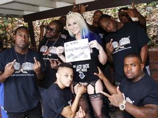 Blacks On Blondes - Leya Falcon