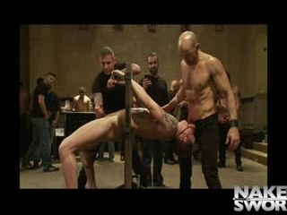 Trent Diesel Bound and Suspended - Kink Men