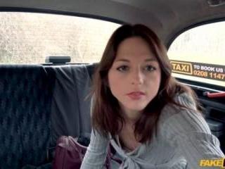 Hard French Fucking Rocks Taxi Cab