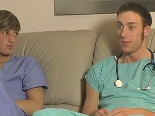 Uncut Boner Riding For Sean - Blake Bigalow And Se