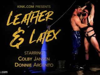 Leather & Latex: Muscle Stud Colby Jansen Dominate