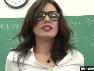 Broken Teens - Adult class teacher gets a load fro