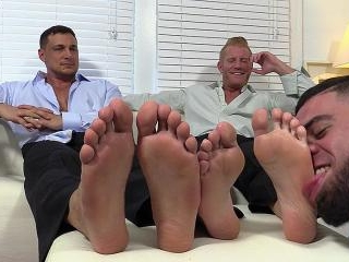 Ricky Worships Johnny and Joey\'s Feet - Johnny/Joe