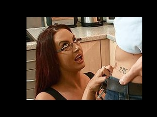 Big tits milf gets fucked by stepson