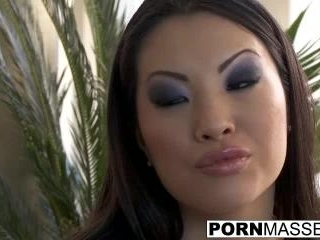Sexy Asa Akira getting drilled by a big dick after
